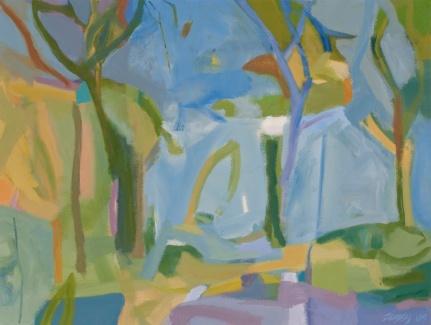 Azure Sky - Acrylic 18X24