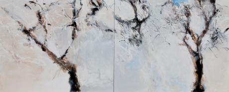 Today Snow - Acrylic 16X20